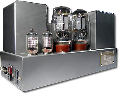 Quad II Monoblock Valve Power Amp